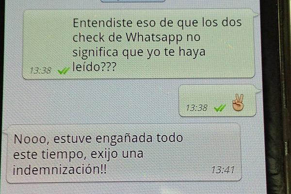 doble visto whatsapp