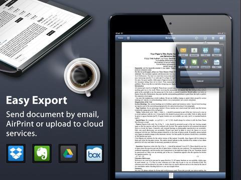 aplicacion escanear documentos
