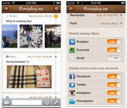 app recordar en redes sociales