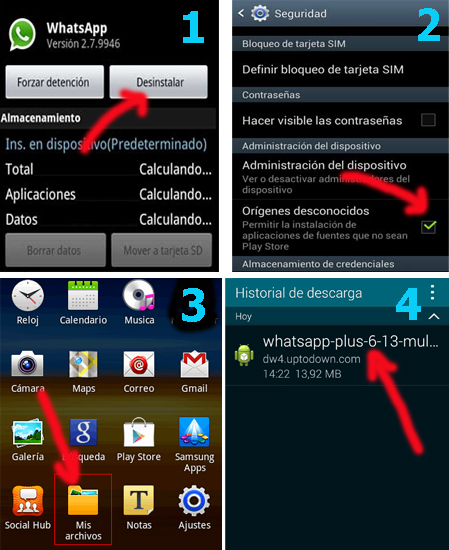 whatsapp plus instalar