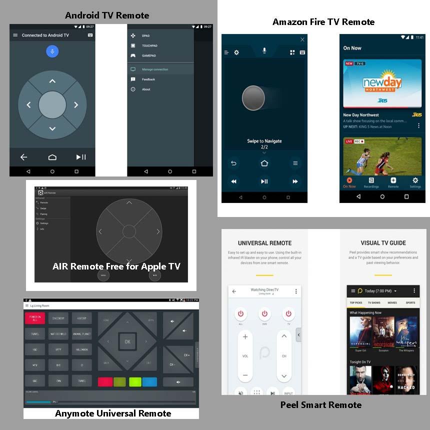 app mandos universales tv